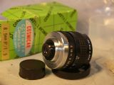 '   1.5 8.5mm C Mount Cosmicar -BOXED-NEW-UNUSED- ' 16mm 1.5 8.5MM TV LENS - Micro 4/3rd Pentax Q Digital Possible- £79.99